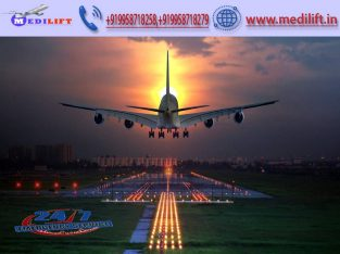 Take Most Trusted Air Ambulance Service in Jaipur with ICU Setup