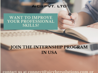 Internship in USA