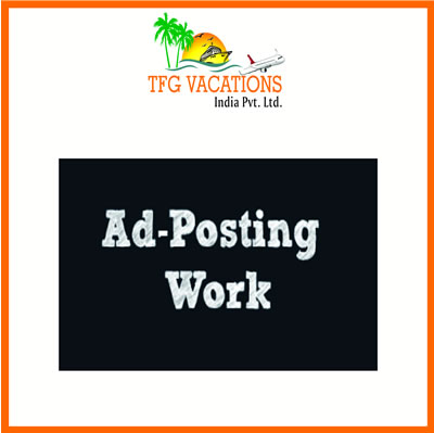 Earn Huge Amount by today In Ad Posting