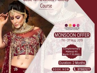 Enroll In Our Basic To Advanced Makeup Course In Delhi