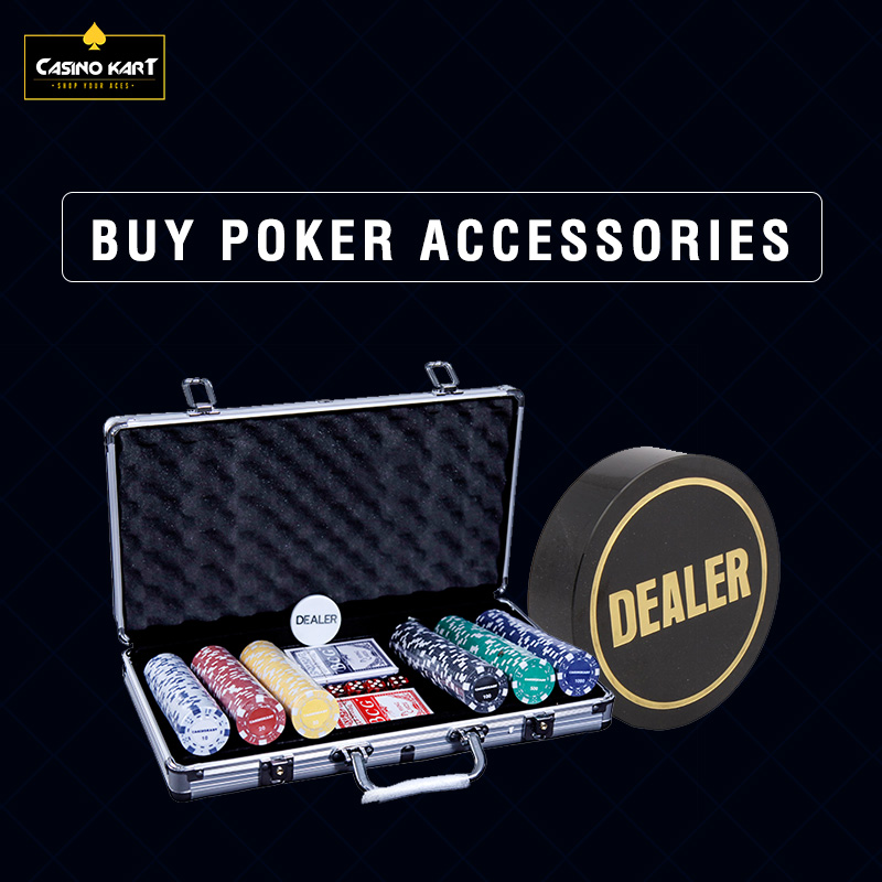 Top-Quality Poker Accessories For Sale at Casinokart