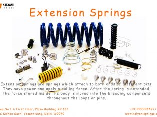 Extension Springs | Wire Forms springs – Kalyani Springs