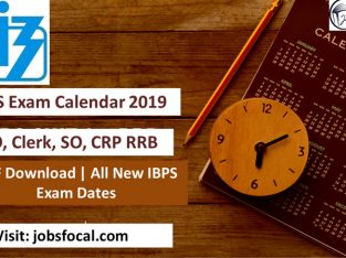 IBPS Exam Calendar 2019 –2020 PDF Download | All New IBPS Exam Dates