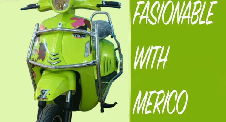 Product Merico Electric Scooter battery operated scooter