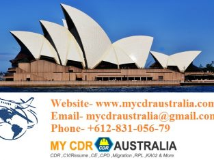 Online CDR Writing Services in Australia by Mycdraustralia.com