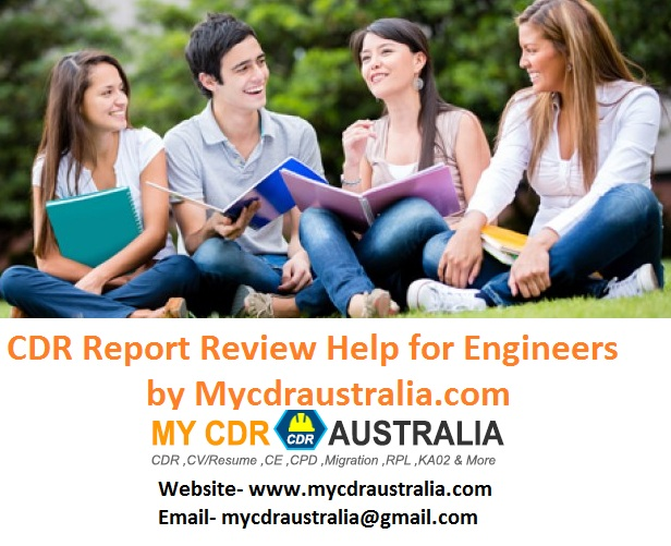 CDR Report Review Help for Engineers by Mycdraustralia.com
