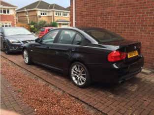 BMW 3 Series, 2012 (12) Black Saloon, Manual Petrol, 30,500 miles in Alexandria