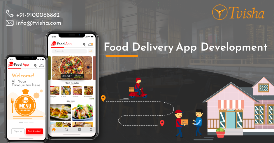 On-Demand Food Delivery App Development Company – Restaurant App Developers