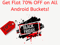 70% OFF on Android Premier Black Friday discount offer.